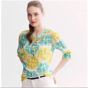 Banana Republic Milly Collection Blouse